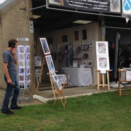 Paintings by Caro at The Great Yorkshire Show
