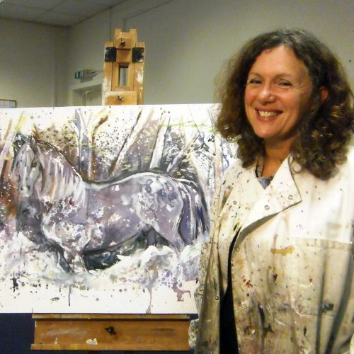 Brighouse Art Circle Demonstration 17th Oct