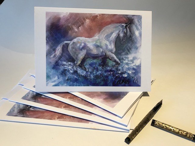 Buy your 2018 Christmas Cards Click HERE. A card that can be framed. A greeting that keeps giving