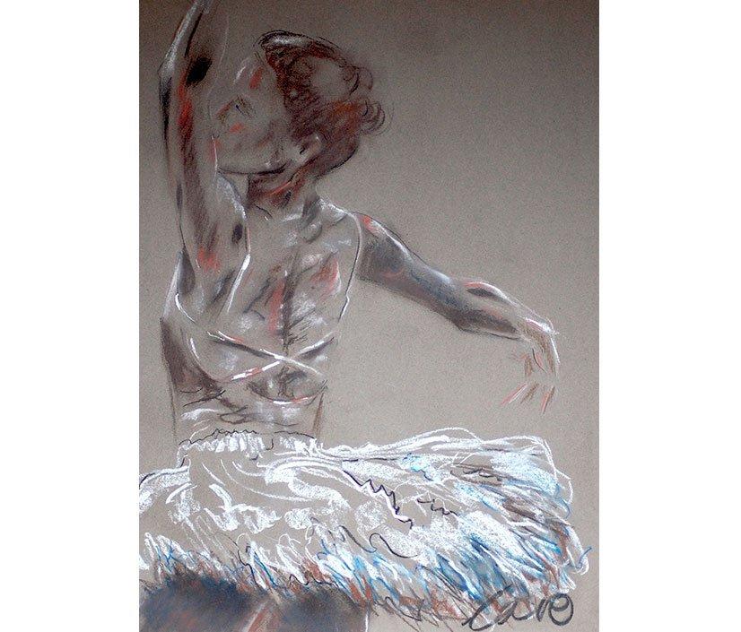 Pirouette / 94cm x 60 cm /2015